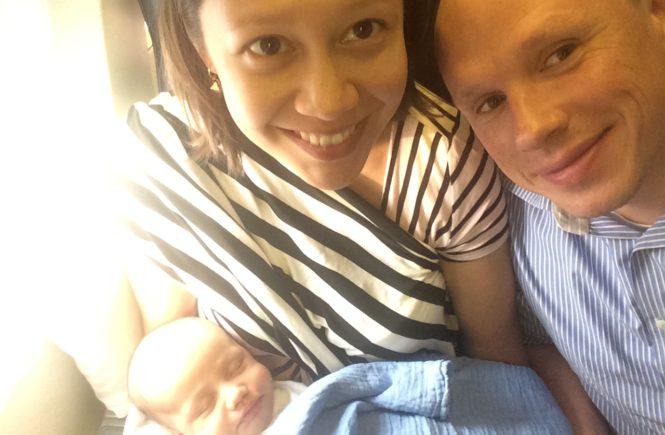 Erster Flug mit Baby