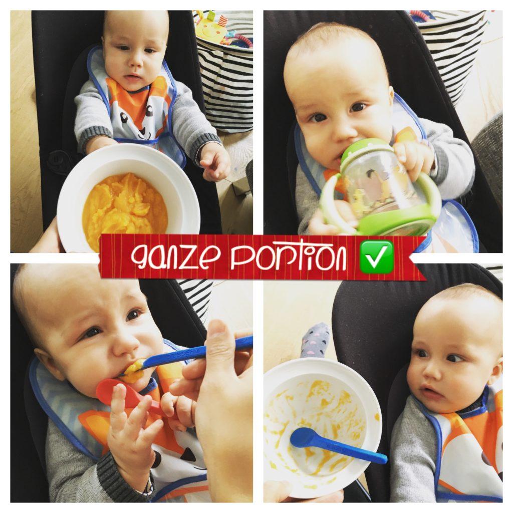 Ganze Portion