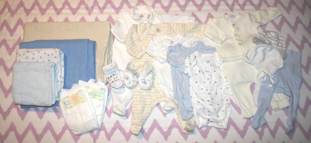 Ausstattung für das Neugeborene