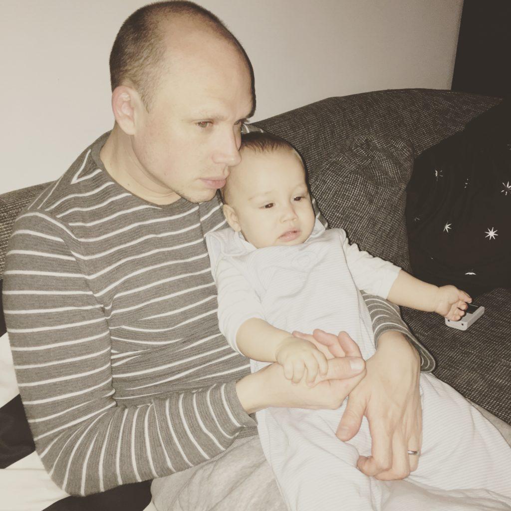 Krankes Baby
