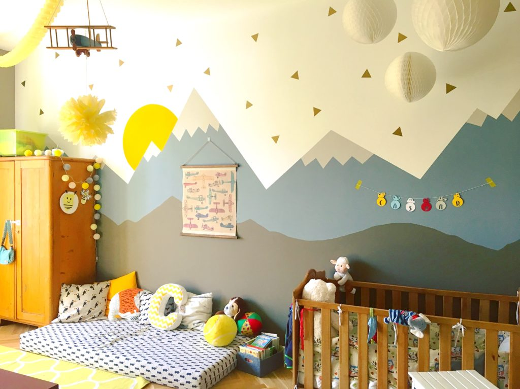 Roomtour / Caspars Kinderzimmer / Farbenfrohes Kleinkindparadies ...